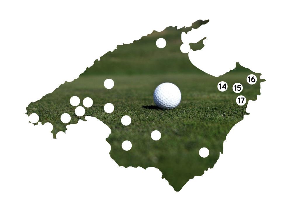 Die Golfplätze im Nordosten Mallorcas im Überblick